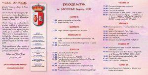 Solanillo del Extremo celebra sus fiestas en honor al Santísimo Cristo de la Columna