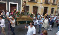 Mariscal preside la procesión en honor a San Roque por las calles del Casco Antiguo