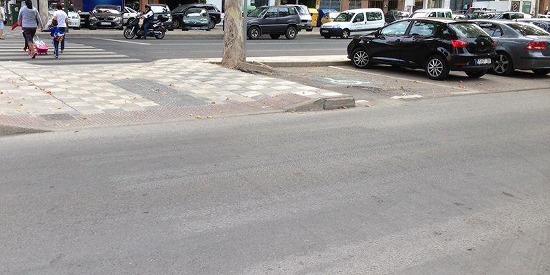 Cs Cuenca inicia una campaña en redes para que los conquenses reclamen al equipo de Gobierno que pinte los pasos de cebra en mal estado