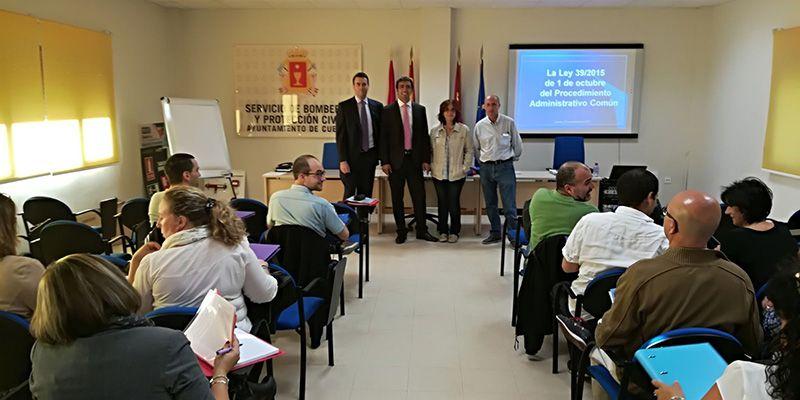 El Ayuntamiento de Cuenca imparte diez cursos de formación destinados a sus trabajadores