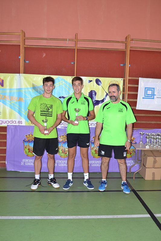 El Torneo de Ferias de Badminton de Guadalajara logra recaudar 511 euros para la asociación AEPMI