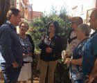 El concejal de Medio Ambiente y la edil del barrio visitan la Colonia de Sanz Vázquez para conocer las demandas vecinales