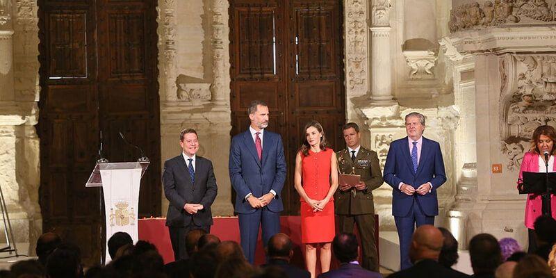 Felipe VI, en Cuenca La Constitución prevalecerá sobre cualquier quiebra de la democracia