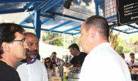 García Molina participa en el tradicional vermut solidario de la Fundación Nipace