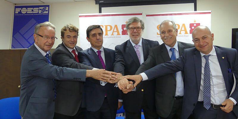 Globalcaja y las cajas rurales de Soria y Teruel renuevan su apoyo con la red SSPA