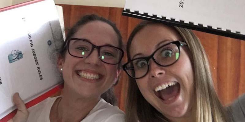 Graciela Dalmau y Laura Almeida, de Guadalajara, obtienen la categoría de juez internacional de rítmica