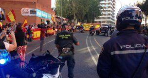 Guadalajara despide a los guardias civiles enviados a Cataluña para impedir el referéndum ilegal