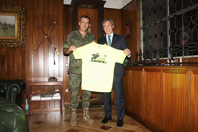 La Academia de Infantería se apunta a la 5ª Carrera Solidaria de Fundación Caja Rural Castilla-La Mancha-Tello