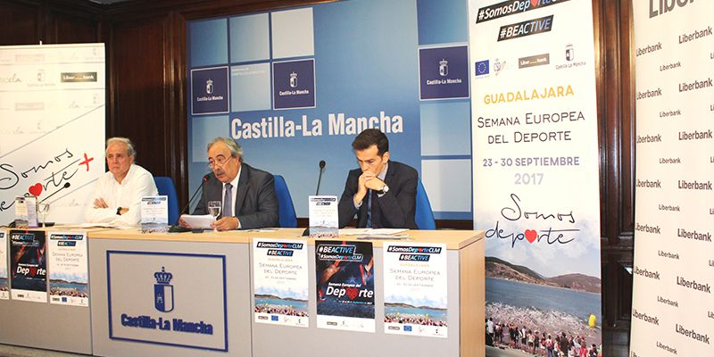 La Junta promueve la práctica deportiva entre la ciudadanía con la programación de actividades en la 'Semana Europea del Deporte'