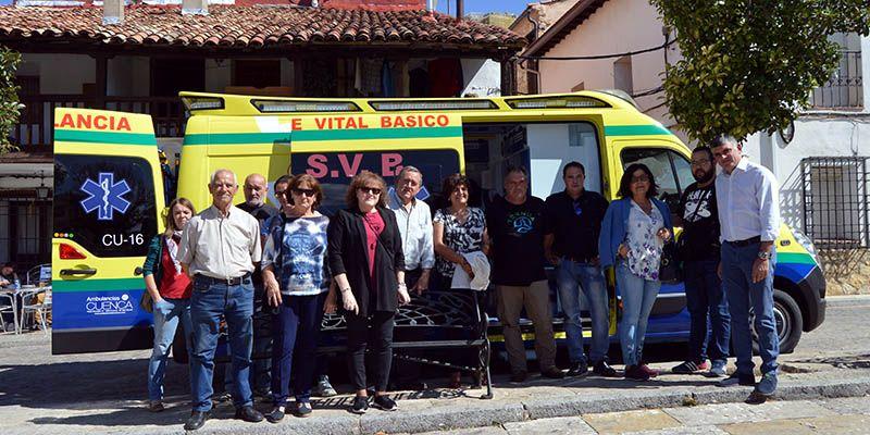 La Zona Básica de Salud de Beteta contará con una ambulancia 24 horas a partir del 1 de octubre