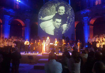 La cantata de Carmina Burana en Uclés desborda las previsiones de aforo de 1.000 espectadores