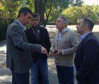 La renovación del asfalto en la calle Constitución de Guadalajara, a buen ritmo