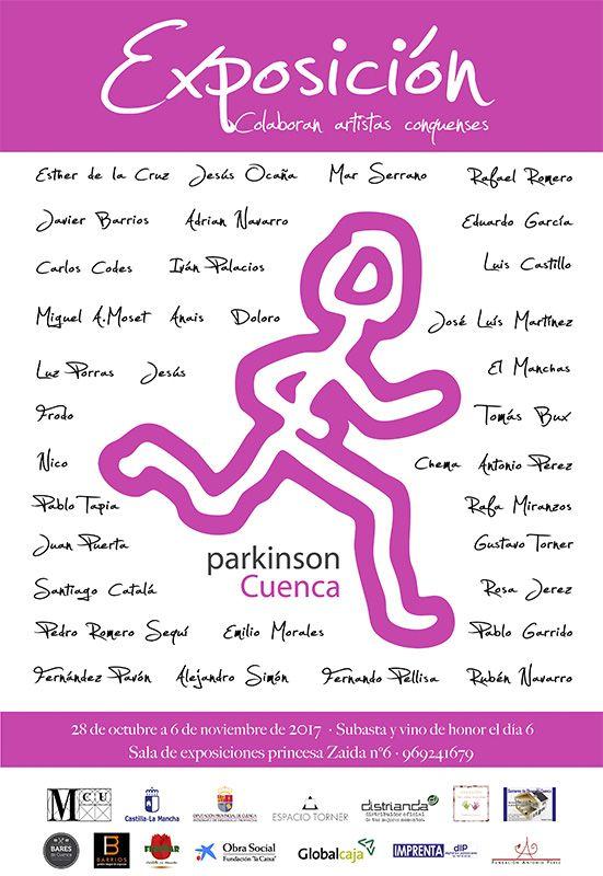 """La sala 'Princesa Zaida"""" acoge la exposición benéfica de la Asociación 'Parkinson Cuenca'"""