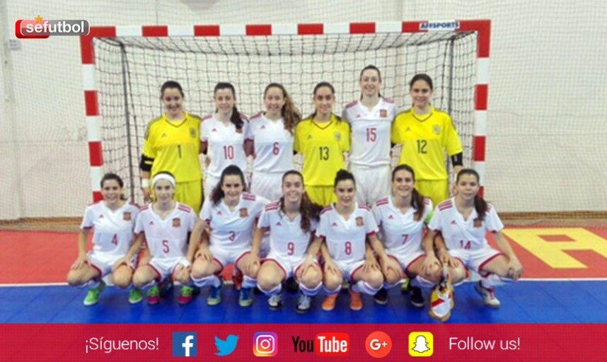 Las Selecciones Femeninas sub 17 de Fútbol Sala de España y Rusia se concentrarán en Guadalajara para preparar sus próximos compromisos deportivos