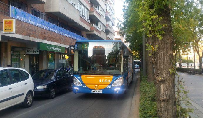 Los conductores del servicio de autobús urbano de Guadalajara anuncian concentraciones