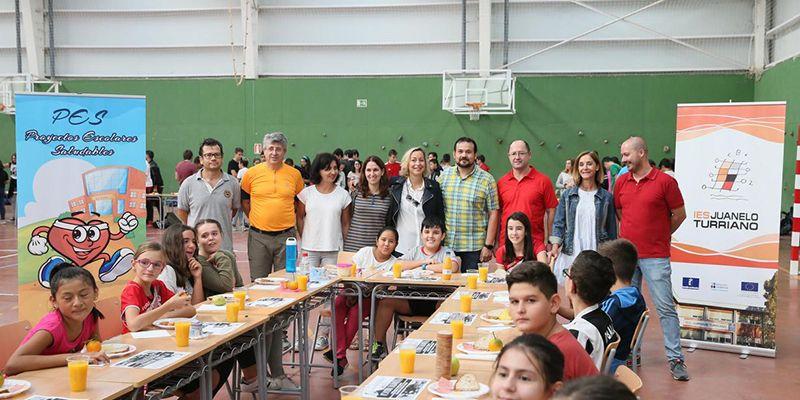 Más de 20.000 escolares de la región han participado hoy en desayunos saludables en sus centros, dentro de la Semana Europea del Deporte