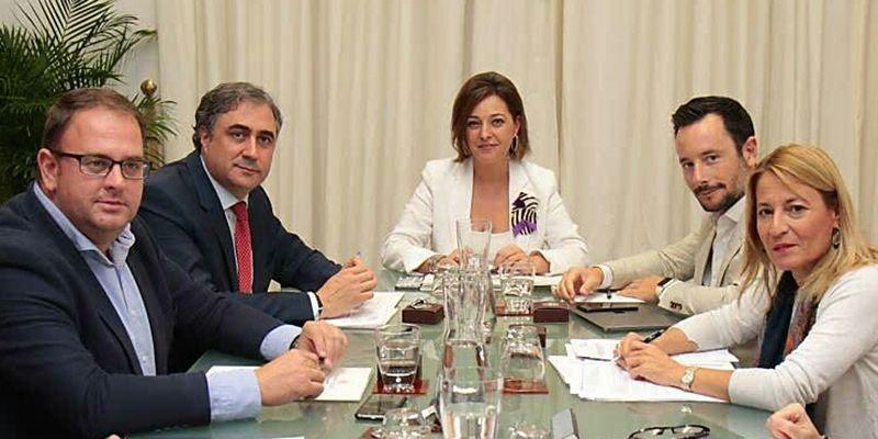 Mariscal asiste a la reunión de la Comisión Ejecutiva del Grupo de Ciudades Patrimonio de la Humanidad de España