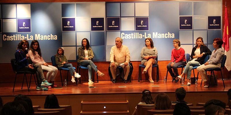 """Mujeres deportistas de élite de Guadalajara coinciden en """"las satisfacciones"""" que la práctica deportiva les ha aportado en su vida"""