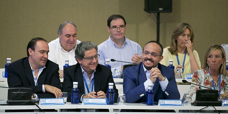 Prieto participa en la Interprovincial del PP, que ha reunido en Palma a todos los presidentes provinciales de España