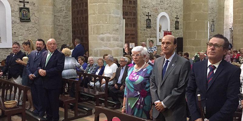 Sánchez-Seco participa en la festividad de la Santa Cruz en Albalate de Zorita