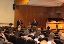 Sánchez-Seco participa en la inauguración de la jornada sobre ciberseguridad en el centro cultural de Ibercaja