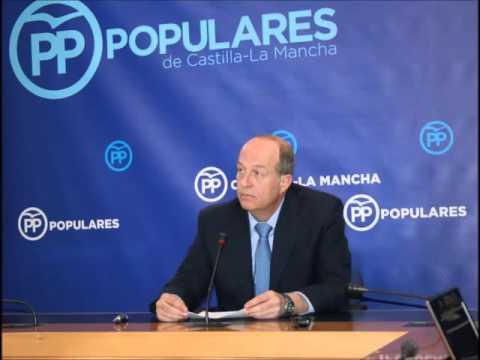 """Tortosa """"El Gobierno de Page ha situado a Castilla-La Mancha como la tercera comunidad autónoma con más déficit de toda España"""""""