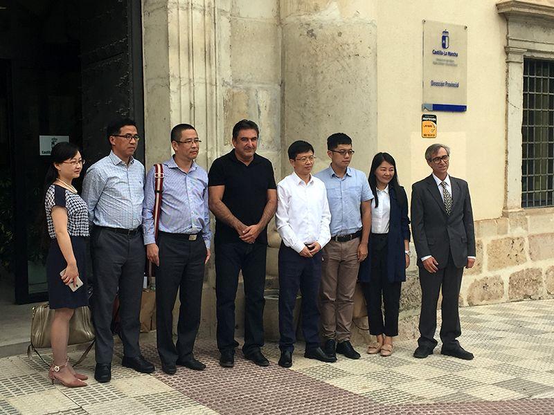 Una delegación china se interesa por la gestión de los espacios naturales en la provincia de Cuenca