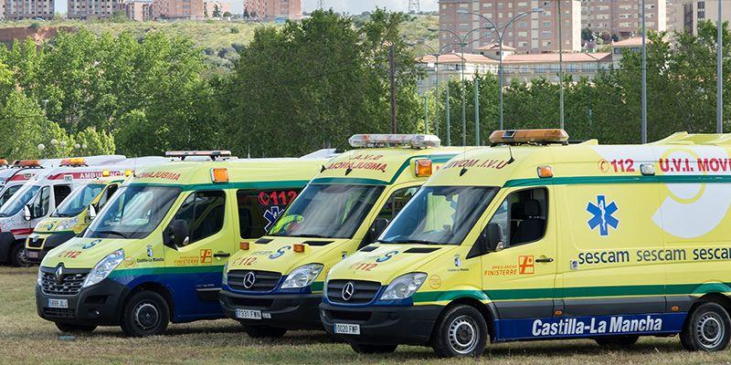 La Junta publica mañana la adjudicación del concurso de transporte sanitario terrestre del SESCAM