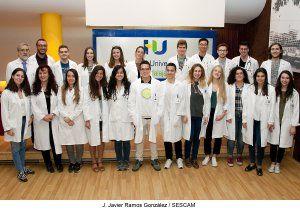 Una treintena de alumnos de Medicina se incorporan estos días a sus prácticas en el Hospital de Guadalajara