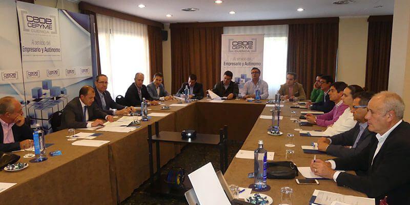 Admitida candidatura de David Peña para presidir CEOE CEPYME Cuenca