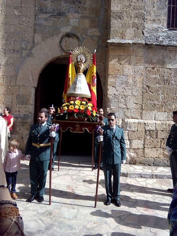 Brihuega vuelve a celebrar a la Virgen del Pilar
