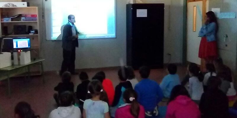 Casi un centenar de alumnos de Uceda conocen la figura del Cardenal Cisneros y su relación con la localidad