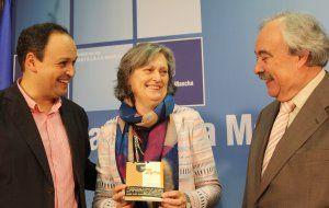 Olga Lucas cierra el ciclo de conferencias en homenaje a José Luis Sampedro organizadas en la Biblioteca pública de Guadalajara