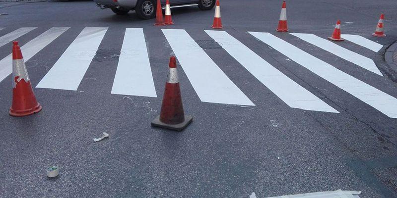 El Ayuntamiento de Cuenca continúa con los trabajos de renovación de señalización horizontal y pintura de pasos de cebra