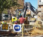 El Ayuntamiento de Tarancón comienza la segunda fase de las obras de saneamiento en la Calle Emilio Villaescusa