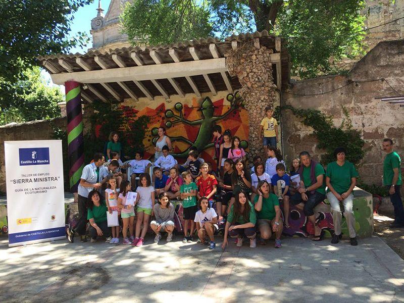 El Taller de Empleo 'Sierra Ministra' está formando en Sigüenza a ocho personas en materia de Ecoturismo