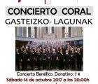 El coro Gazteizko Lagunak pondrá mañana punto final a la temporada cultural de la AAISS