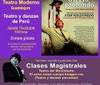 El próximo jueves, 19 de octubre, teatro y danzas de Perú, en Teatro Moderno