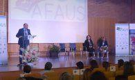El presidente de la Diputación reitera el apoyo y compromiso con AFAUS Pro Salud Mental en su 25 aniversario