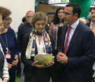 FERIMEL recibe a la Ministra Tejerina en el stand de Fruit Attraction