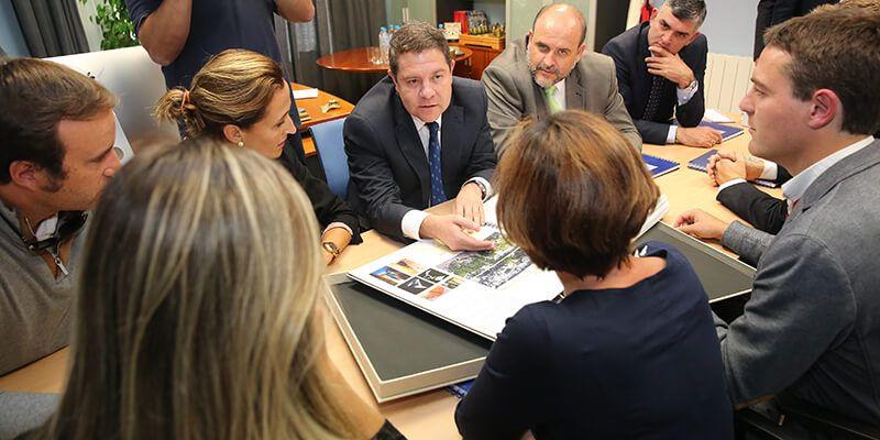 """Godoy afirma que el proyecto de accesibilidad al casco antiguo de Cuenca IN """"es una oportunidad que la ciudad no puede perder"""""""