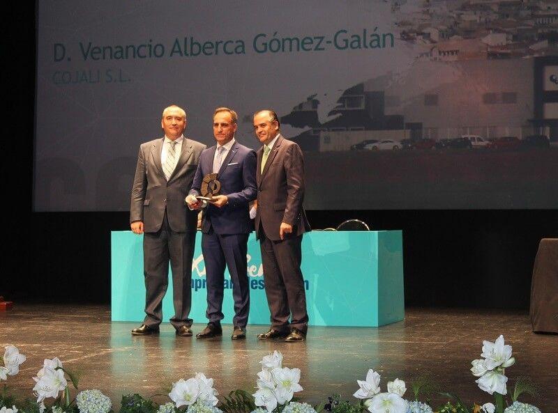 """Gregorio a los empresarios """"Estos premios son un reconocimiento a vuestro buen hacer en el camino de la recuperación económica y en la creación de empleo"""""""
