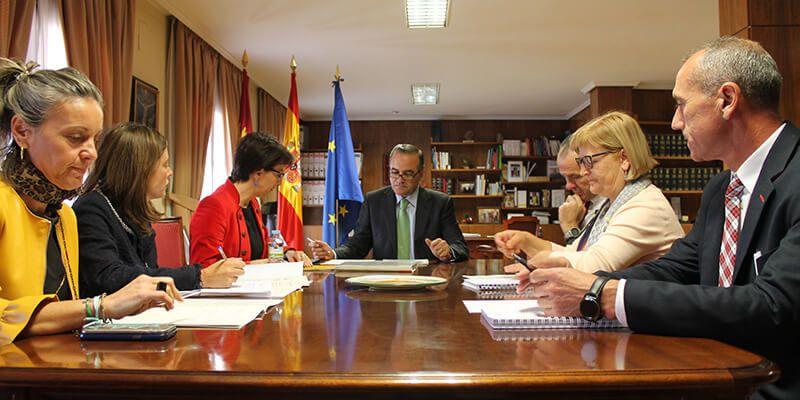Gregorio preside la reunión de coordinación de las cinco Unidades contra la Violencia de Género de la Administración General del Estado en Castilla-La Mancha