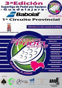 Presentado el I Circuito Provincial de Padel Diputación de Guadalajara