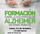 Jornadas de formación e información sobre Alzheimer en Huete
