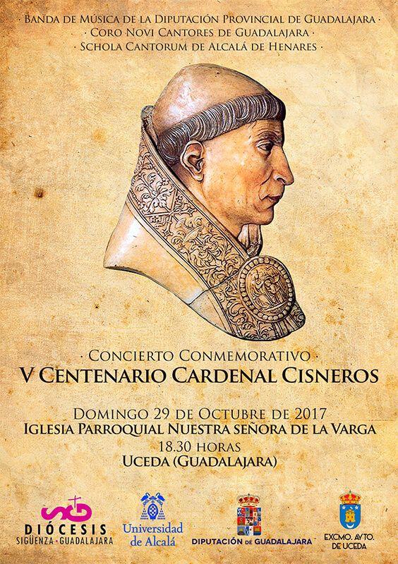 La Banda de la Diputación, el coro Novi Cantores y la Schola de Alcalá ofrecerán el próximo domingo un concierto en la iglesia de Uceda