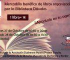 La Biblioteca de Guadalajara acoge un mercadillo benéfico a favor de los enfermos de Duchenne
