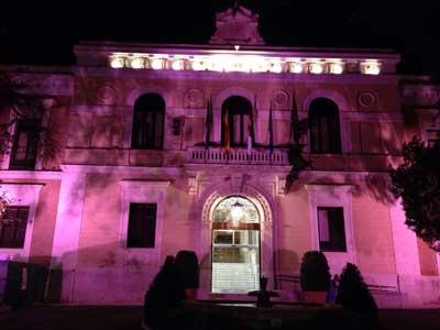 La Diputación de Guadalajara iluminará de rosa la fachada del Palacio Provincial con motivo del Día Contra el Cáncer de Mama