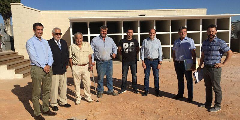 La Diputación de Guadalajara lleva a cabo una importante ampliación del cementerio de Mohernando
