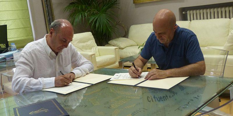 La Diputación y el Club Natación Guadalajara colaboran para el fomento de las actividades de natación y salvamento y socorrismo